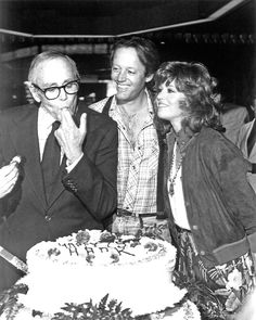 Jane and Peter Fonda at a birthday celebration for dad Henry