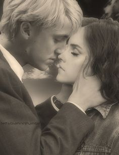 Dramione / Draco & Hermione --- This is worth pinning again.