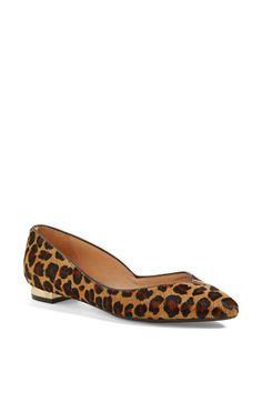Leopard flats for fall - Tory Burch
