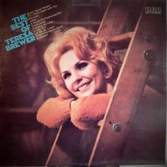 "TERESA BREWER: BEST OF  12"" VINYL LP (1975) GREAT VOCALS LEGENDARY STAR"