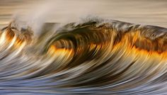 Long Exposure Photographs of Waves by David Orias