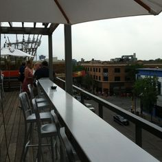 Rooftop bar and restaurant in Minneapolis Uptown. Awesome.