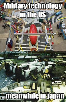 Military Technology: USA Vs. Japan - I want to be a gundam pilot!!!