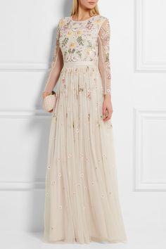 Needle & Thread | Embellished tulle gown | NET-A-PORTER.COM