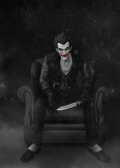 Arkham Origins Joker-in my opinion, the best Joker ever :D