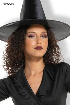 Become a storybook favorite in a Classic Witch Costume. This affordable Classic Witch Costume features a tie-back black dress with sawtooth hem and sleeves. Witch hat sold separately Witches Costumes For Women, Witch Costumes, Halloween Costumes, Panama Hat, Seasons, Holidays, Tie, Hats, Classic