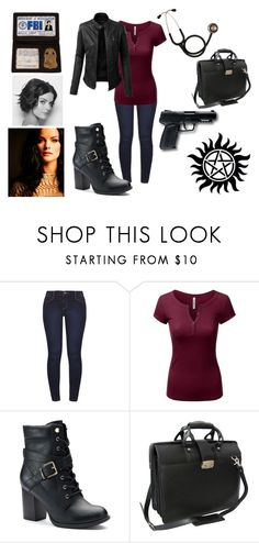 """""""Welcome Home"""" by emma-esselmark on Polyvore featuring Dorothy Perkins, Doublju, Apt. 9, AmeriLeather, All Black, LE3NO and winchester"""