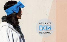 Knit Bow Headband by esther | Project | Knitting | Kollabora