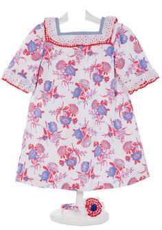 Vestido Piqué Estampado - demelocoton.com