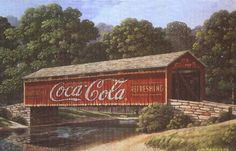 Local Artist Jim Harrison is famous for his Coca Cola paintings. He has a lovely shop in Downtown Denmark, SC!