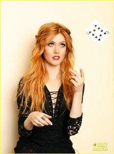 Katherine McNamara Supports Girl Up SchoolCycle Campaign: Photo #898852. Katherine McNamara looks stunning as she flings a deck of cards in an image from a new photo shoot.    Earlier this week, 19-year-old Shadowhunters actress attended…