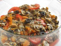 Mushrooms salad