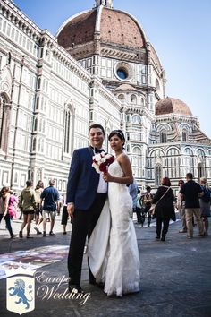 Real Florentine Wedding - Florence, Italy