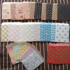 セリアの折り紙でポチ袋作り(作り方付き) - kasutera diary