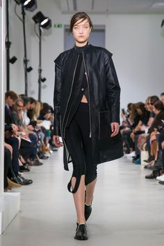Paco Rabanne RTW Spring 2015 - Sporty looks dominated this collection, but there was enough shine and embellishments to keep the looks feminine and fun. thestyleweaver.com