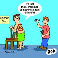 Dart Acupuncture!