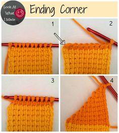 Tunisian Crochet Ten Stitch Blanket Pattern                                                                                                                                                                                 More