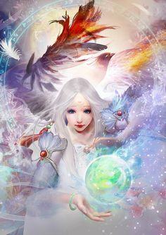 Fairy by Ping He | Fantasy | 2D | CGSociety