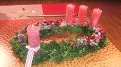Ovaler Adventskranz