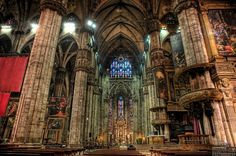 Milan Italy Attractions Top Ten | ... of Milan Milan Cathedral, Tourist Attraction in Lombardy, Milan, Italy