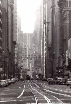 California Street, San Francisco, 1964 by Todd Walker