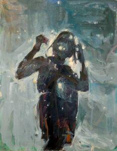 """Saatchi Art Artist HYUNJU KIM; Painting, """"Hear the Wind Sing"""" #art"""