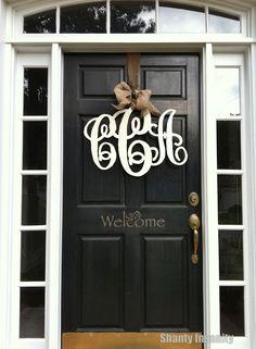 Beau Monogram Door Hanger   Going On Our New Homes Front Door For Sure!