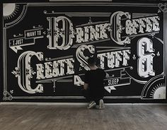 "Check out this @Behance project: ""Type Mural + Video"" https://www.behance.net/gallery/15031501/Type-Mural-Video"