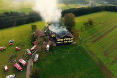 Großbrand auf Bauernhof 175 Feuerwehrmänner im Einsatz - nachrichten.at