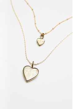 Double Locket Necklace | Free People