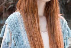 38 Shawl Crochet Shawl Pattern Elegant Quick and Easy - Women's Fashion! Crochet Shawl, Long Hair Styles, Womens Fashion, Pattern, Beauty, Crochet Dress Patterns, Crochet Shawl Patterns, Wool Yarn, Long Hairstyle