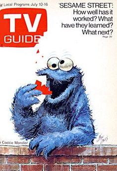 Sesame Street / Cookie Monster by Jack Davis