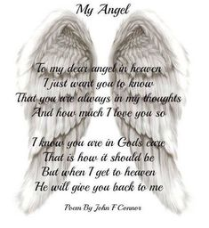 564 Best Angels In Heaven Images In 2019 Miss You Thoughts