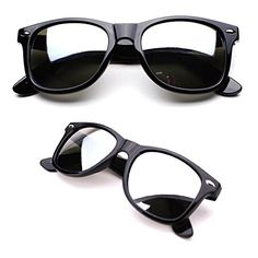 37c5501da81 MEN Sunglasses Wayfarer Style Matte Black Frame with Mirror Lens NEW --  Check this awesome