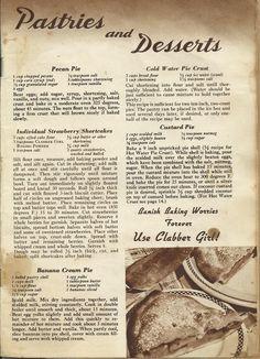 Clabber Girl Recipes