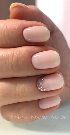 Beige Nails, Neutral Nails, Neutral Wedding Nails, Beige Nail Art, Simple Wedding Nails, Plum Nails, Pink Wedding Nails, Trendy Nail Art, Stylish Nails