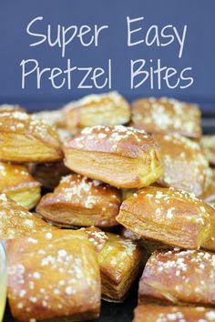 Super Easy Pretzel Bites on MyRecipeMagic.com #bites #pretzel #easy