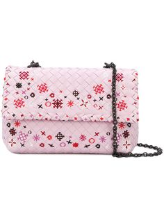 e534caf974a Bottega Veneta Dagree Intrecciato Meadow Flower Baby Olimpia Bag - Farfetch