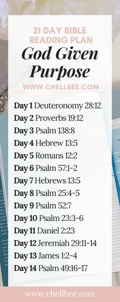 God Given Purpose Bible Reading Plan Discover how to uncover your God given purpose with prayer and scripture. These tips are perfect for anyone who is soul searching. Bible Study Plans, Bible Study Notebook, Bible Plan, Bible Study Tips, Bible Study Journal, Bible Lessons, Best Study Bible, Bible Guide, Scripture Reading