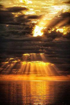 beautiful photo of beautiful sunset Beautiful Sunset, Beautiful World, Beautiful Places, Beautiful Lyrics, Simply Beautiful, Amazing Places, All Nature, Amazing Nature, Cool Pictures