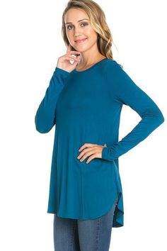 The super versatile Brooke tee is longer in length and comes in lots of great colors for only $22!  Get yours at Tag Online Boutique!
