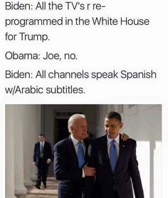 All the best Pres. Obama & Joe Biden memes floating around the internet right now: A tribute