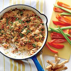 Shrimp-and-Andouille Gumbo Dip - 60 Coastal Shrimp Recipes - Coastal Living