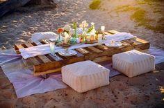 70 Romantic Boho Beach Wedding Ideas | HappyWedd.com