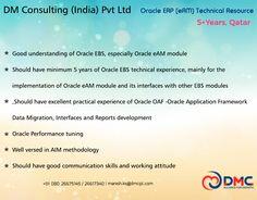 Oracle Erp, Job Posting