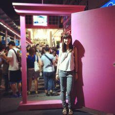 Finally here#doraemon#hk#hkig #hongkong #asian #girl #iphone #instamood #door#pink#time#100 - @emilyhiulam- #webstagram