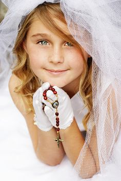 More First Holy Communion by Traciѐ, via Flickr. Photo idea