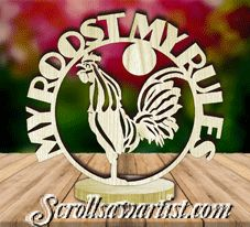 Scroll Saw Patterns :: Plaques :: Freestanding word plaques :: Freestanding word plaque - Rooster Letter Ornaments, Globe Ornament, Christmas Ornaments, Faith In Love, Scroll Saw Patterns, Wood Projects, Snow Globes, Rooster, Dangles
