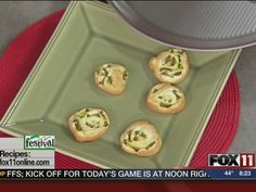 Pinwheel Poppers #recipe from WLUK FOX 11 Good Day Wisconsin Cooking with Amy Hanten. #recipes #video