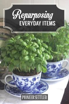 Repurpose Materials | Self-Sustaining Ideas For Living The Homesteader's Dream | DIY Projects And Frugal Living Ideas by Pioneer Settler at http://pioneersettler.com/self-sustaining-ideas-living-homesteaders-dream/